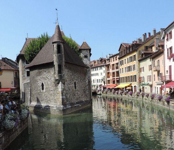 Annecy le palais de l 39 ile for Jardin du chateau annecy
